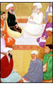 Dara Shikoh with Mian Mir and Mulla Shah