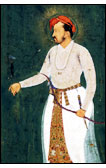 Emperor Jahangir with Bow and Arrow